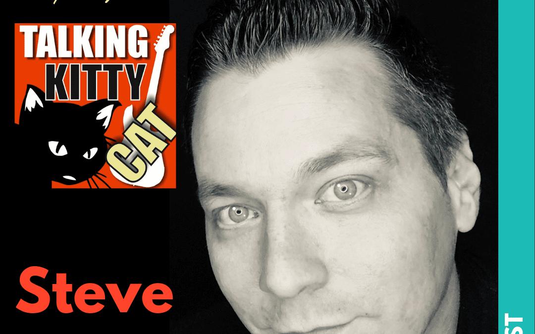 Steve Cash Talking Kitty Cat Podcast