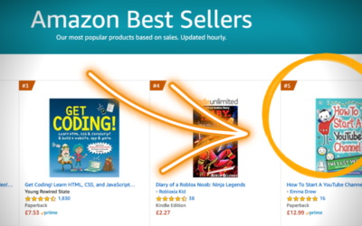 How I went from devoted YouTuber to bestselling Amazon author in one year